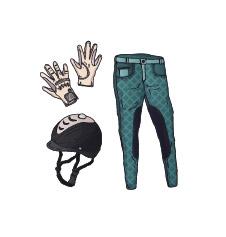 Reitbekleidung