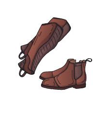 Produktkategorie Schuhe und Chaps