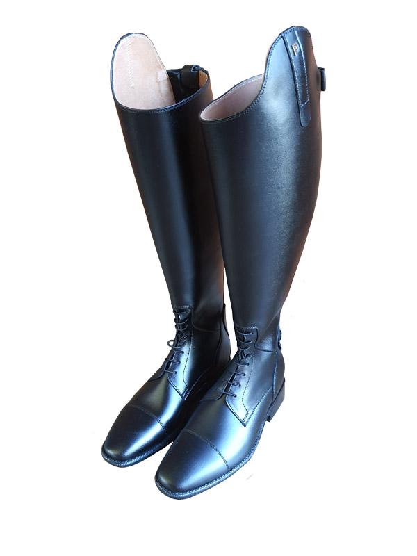 freigestellte Reitstiefel Petrie Melbourne/Melbourne Junior in schwarz